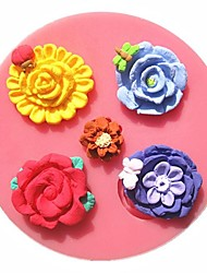 Dragonfly Beetle Butterfly Love Flower Fondant Cake Molds Soap Chocolate Mould For The Kitchen Baking