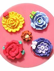 стрекоза жук бабочка цветок любви помады формы торта мыло формы шоколада для кухни выпечки
