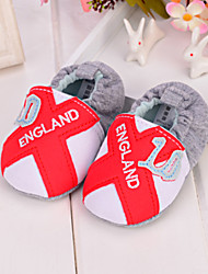 Baby Shoes - Casual - Mocassini - Tessuto - Rosso