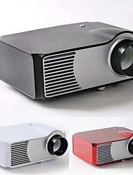 HTP®  800*600 1500 lumens LED projector LCD proyector with GA AV TV HDMI USB Home theater projector