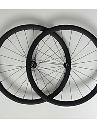 AURORA RACING 700C 38mm Depth Carbon Tubular Wheelset 23mm Wide Carbon Road Bike Wheels