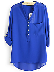 DONNE - Top e blouse - Informale Scollo a V - Maniche a ¾ Chiffon