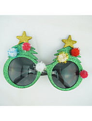 PC Funny Christmas Tree Geek& Chic Party Glasses