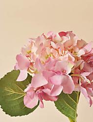 Light Pink Hyfrangeas Artificial Flowers Set 2