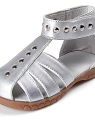 Girls' Shoes Casual Comfort Leather Sandals Brown/Pink/White/Silver