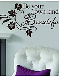Wall Stickers Wall Decals, Be Your Own Kind of Beautiful PVC Wall Stickers
