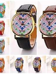 Women  Arrow Dial PlatePu Leather Diamond Brand Luxury Lady Bracket Dress Wristwatch (Assorted Colors)C&D-201