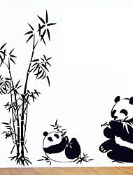 окружающей среды съемный стикер панда стены PVC