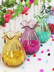 Art Elegant Glass Garden Theme Vases (Random Color)
