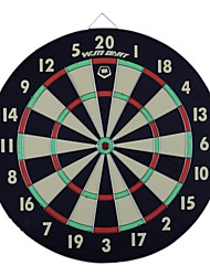 WINMAX® 18''X3/4'' Paper Dartboard Family Dart Games with Six Iron Darts