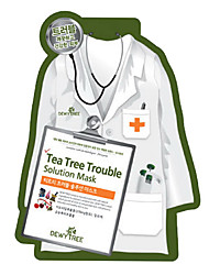 Dewytree Tea Tree Trouble Solution Mask -2pcs DT0002