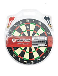 Winmax® Indoor Game 12 Inch Mini Paper Dartboard with Four Iron Darts