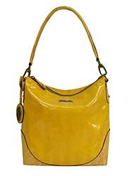 Feminino PVC Casual Bolsa de Ombro / Tote Amarelo