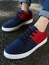 Scarpe da uomo - Sneakers alla moda - Casual - Di corda - Marrone / Giallo / Blu scuro