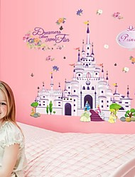 Wall Stickers Wall Decals, Fairytale Castle PVC Wall Stickers