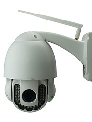 wirelese p2p gratis ptz visión exterior de la cámara ip 720p noche IR-CUT