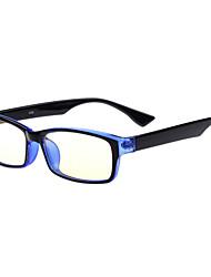 [Бесплатная линзы] прямоугольник полный обод компьютерные очки