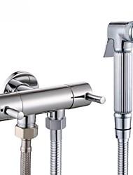 Chrome  Water-Saving High Pressure Bidet Sprayer Handheld Bidet for Toilet, K1012+LP903