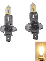 Nani-312 H1 55W 3000K 1800LM Ultra Yellow White Light Halogen Headlamps (Pair/12V)