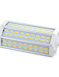 15W R7S Ampoules Maïs LED 54 SMD 5730 1000-1200 lm Blanc Chaud Gradable AC 100-240 V 1 pièce