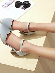 Women's Shoes Chunky Heel Pointed Toe Pumps Shoes Dress More Colors available
