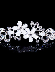 Resin Alloy Tiaras With Rhinestone Wedding/Party Headpiece