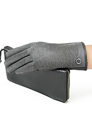Men's Wool, Palm Touch Screen Gloves