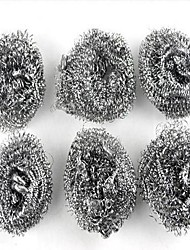Essential Household Cleaning Stainless Steel Wire Brush Balls (6 PCS)
