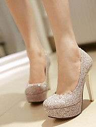 Women's Shoes Glitter Stiletto Heel Heels/Platform/Round Toe Party & Evening Pumps Shoes More Colors available