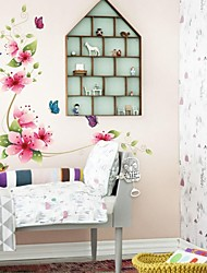 Wall Stickers Wall Decals, Flower PVC Wall Stickers