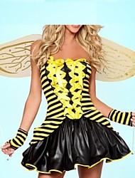 Black and Yellow Bee Adult Women's Halloween Costume