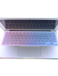"""Ultra-thin Protective Plastic Soft Sticker for MacBook Air 11.6""""/13.3"""" Keyboard Protector Cover Skin-Pink + Blue"""