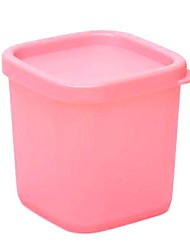 Creative Kitchen Microwave Refrigerator Storage Box Applicable 230ml (Pink)