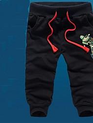 Men's Casual Print Shorts Cropped Pants