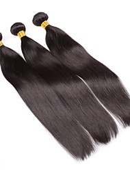 Brazilian Virgin Hair Natural colour 3Pcs 18Inch Straight Hair Weaving 100% Human Hair