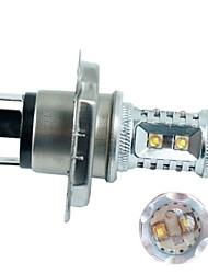 1pcs H4 50W High Power 10 CREE Llight Lamp Bulb Car Lighting CREE H4 LED Fog Lamps