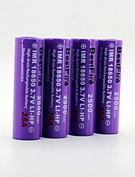 BestFire 18650 3.7V 1500mAh Rechargeable Battery (4Pack)