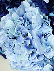 """36 """"hellblau hyfrangeas künstliche Blumen"""