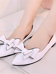 Women's Shoes Flat Heel Pointed Toe Flats Dress White