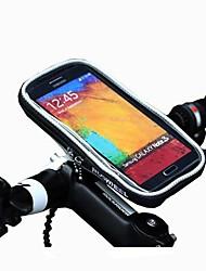 Bolsa Celular / Bolsa para Guidão de Bicicleta (Preto / Laranja , Poliéster) Touch Screen Ciclismo