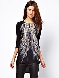 Women's European Fashion Long Sleeve Bottoming Shirt