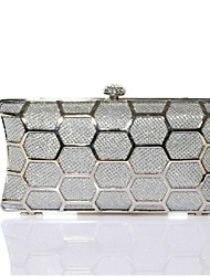 Ladies Fashion  Metal Party Clutch Purse