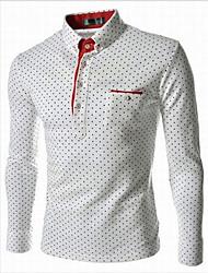 wecool мужская мода рубашка с длинным рукавом