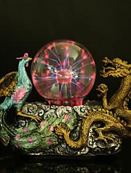 resina dragón bola de cristal y la lámpara fénix