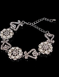 Paar/Damen Armbänder Charme Silber/Alluminium Diamant/Kristall