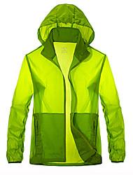 Tops/Paravientos/Jerseyes/Personalizada ( Blanco/Verde/Azul/Azul cielo/Verde Militar ) -Impermeable/Transpirable/A prueba de