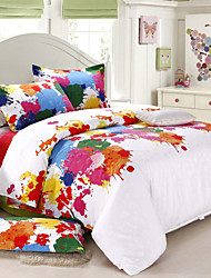 Yuxin®Full Mianjin Silk Cotton Satin 4 Piese Jacquard kit Stereo   1.5m-1.8m Bed/2.0m Bed   Bedding Set