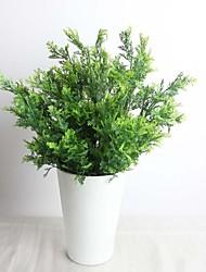 """14,2 """"artificielle plante neuf branches de cyprès feuilles 2 bouquets"""
