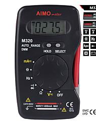 Multímetros - aimometer - m320 - Tela Digital