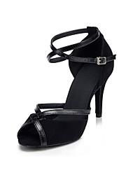 Zapatos de baile ( Negro ) - Latino / Salsa - No Personalizables - Tacón Stiletto